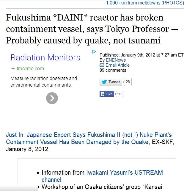 Fukushima DAINI reactor has broken containment vessel, says Tokyo Professor.jpg