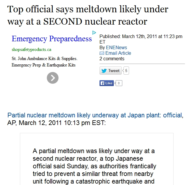 1 Top official says meltdown likely under way at a SECOND nuclear reactor.jpg