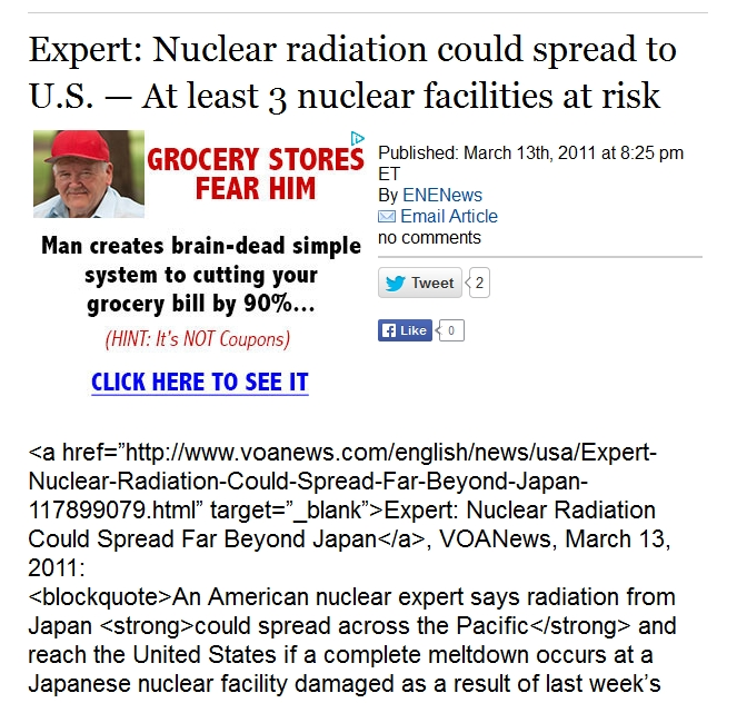 2a Expert Nuclear radiation could spread to U.S. — At least 3 nuclear facilities at risk.jpg
