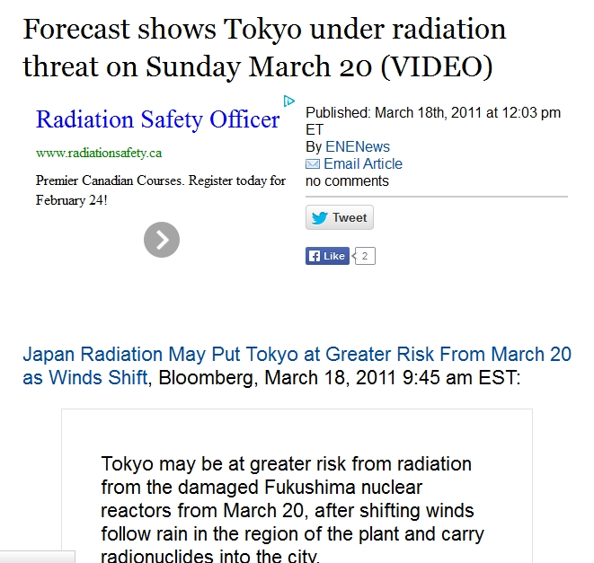 2s Forecast shows Tokyo under radiation threat on Sunday March 20 (VIDEO).jpg