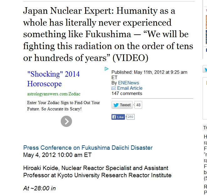 Japan Nuclear Expert Humanity as a whole has literally never experienced something like Fukushima.jpg
