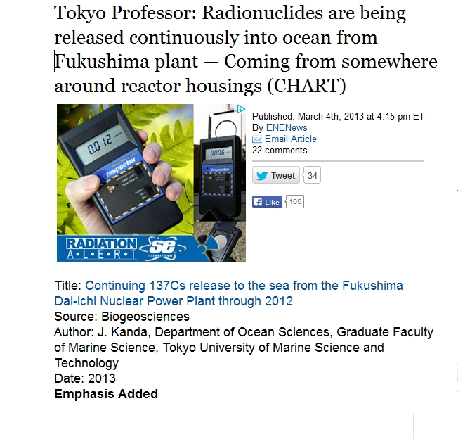 Radionuclides are being released continuously into ocean.jpg