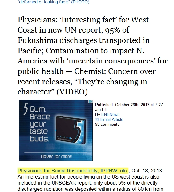 95% of Fukushima discharges transported in Pacific; Contamination to impact N. America.jpg