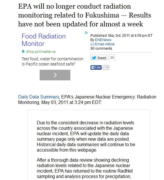 EPA will no longer conduct radiation monitoring related to Fukushima.jpg