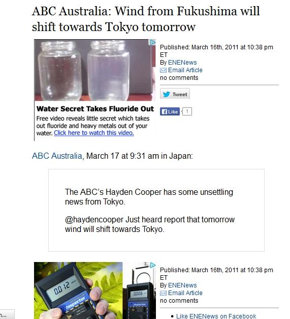 ABC Australia Wind from Fukushima will shift towards Tokyo tomorrow.jpg