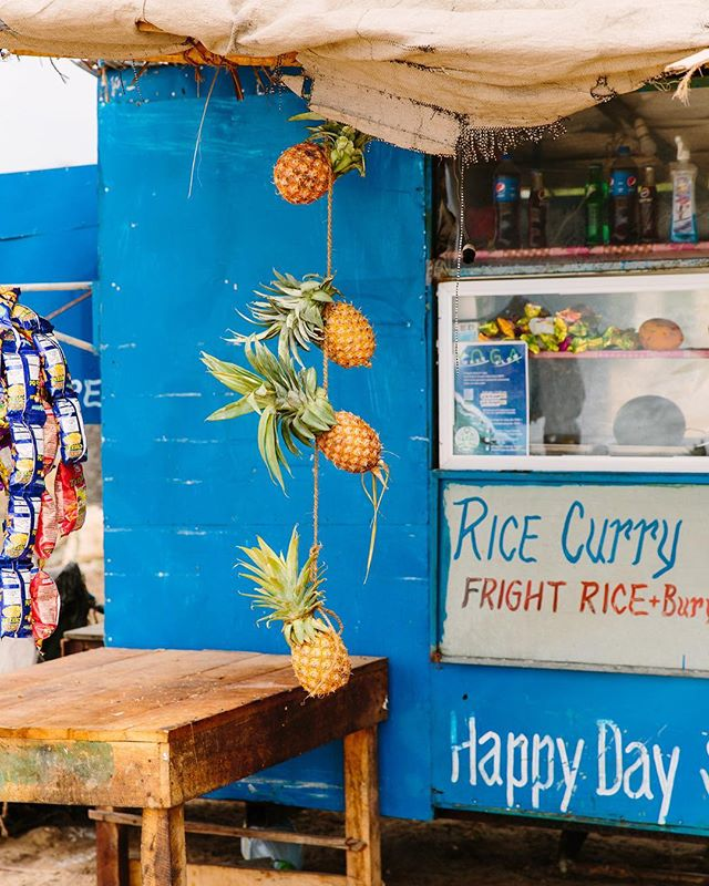 The Rotti Shop in Arugam Bay. Dreaming of their coconut roti today 🥥🥥
