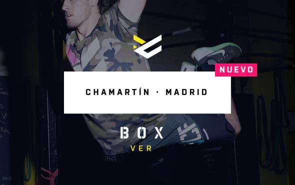 VEN A PROBAR GRATIS EN NUESTRO BOX DE MADRID CHAMARTÍN