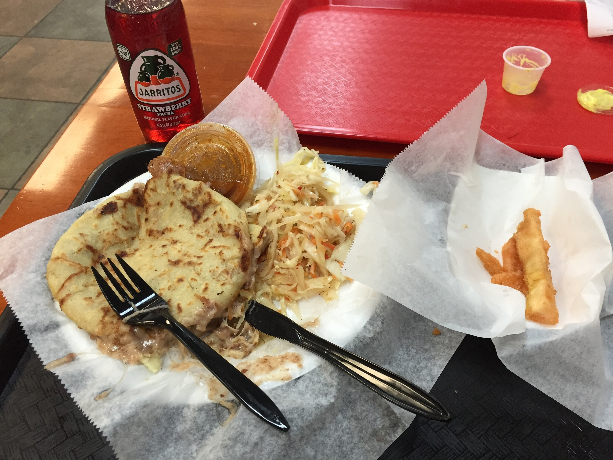 With a side of fried yuca and strawberry soda? Yes please.