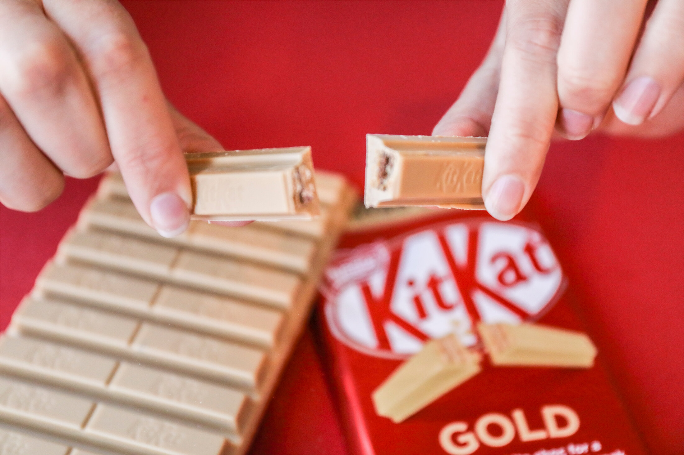 KITKAT GOLD LAUNCH