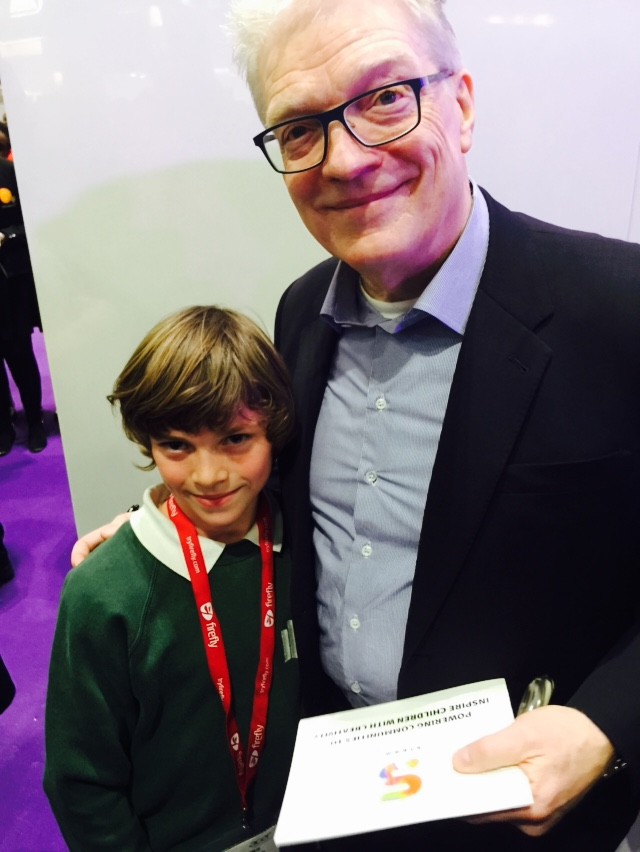 'MY DAD'S A BIRD MAN - WILL YOU DO A SELFIE WITH ME?'    Photo credit:  Graham Brown-Martin - Reimagining Education