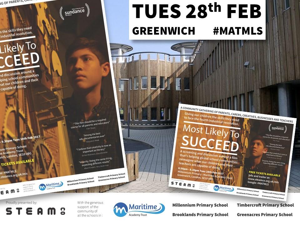 MLTS Screening at Maritime Academy Trust in Greenwich