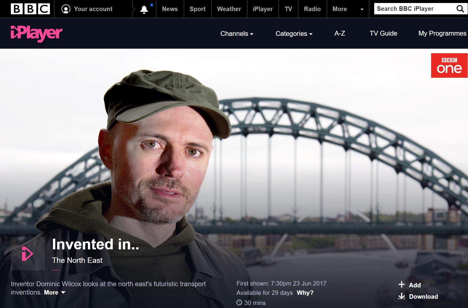 Dominic WIlcox BBC doc.JPG