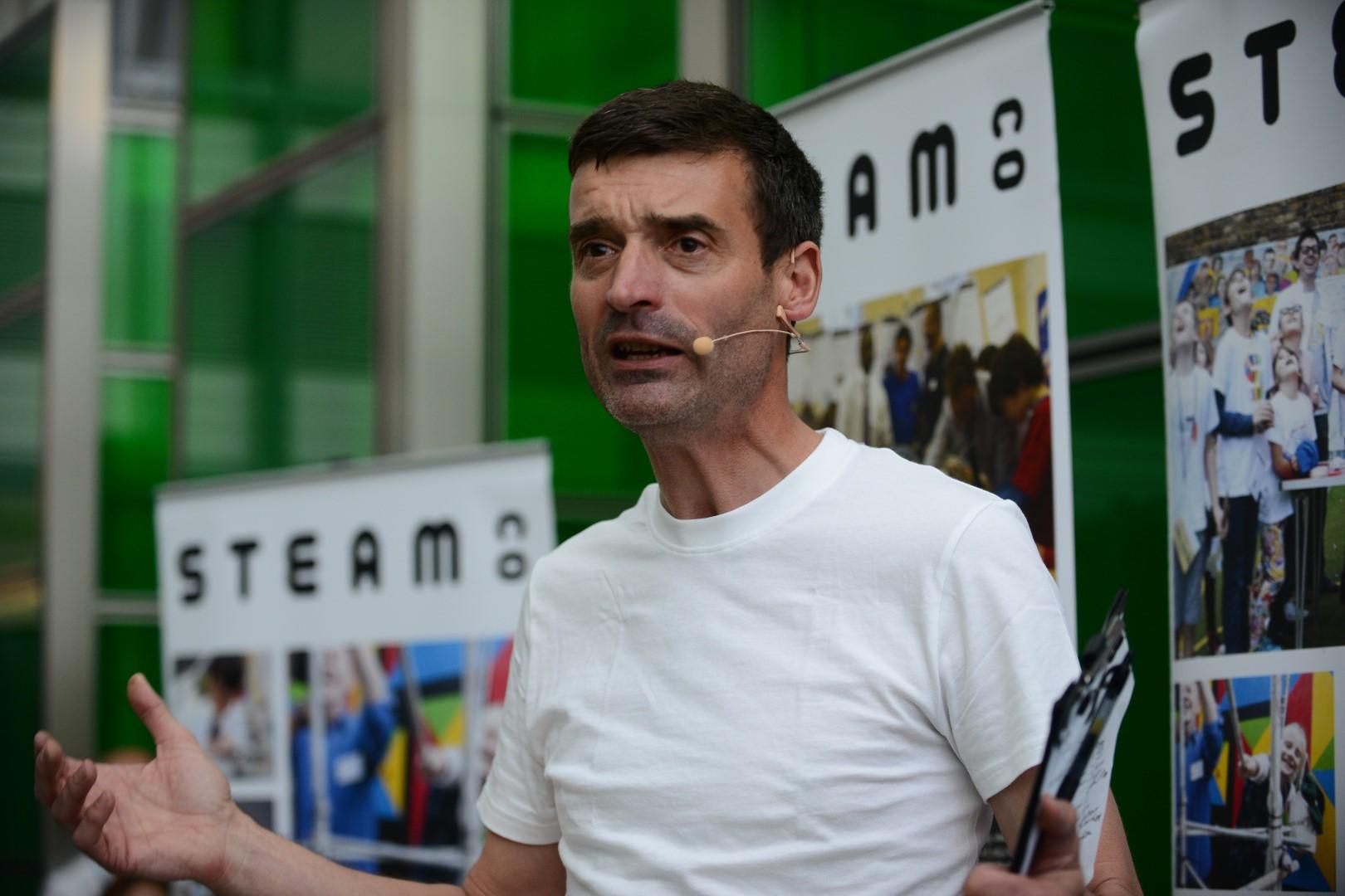 Nick Corston Co-founder STEAM Co speaking.jpg