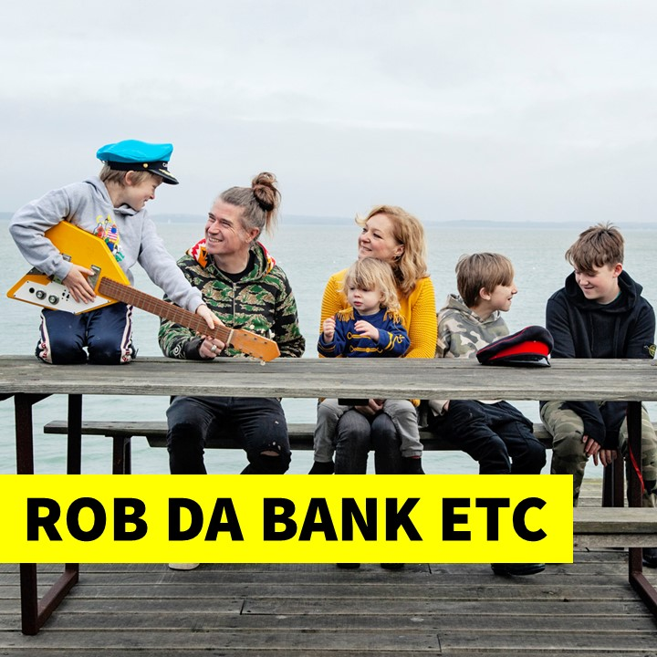 Rob Da Bank is allowed to break the rules, so we can by not just having a photo of him here but, Josie his wife and his whole family as it's all their fault.  We were inspired to start STEAM Co. when we saw what they were doing at their off the scale creative family festival Camp Bestival.  Joise is very much Rob's creative other half and we're sure if they hadn't had kids they'd just be running festivals in Ibiza, Morocco, The Nevada Desert and a Balanese Beach which is all very well for those who haven't got kids yet, or thought of borrowing a few on a STEAM Co. Day.