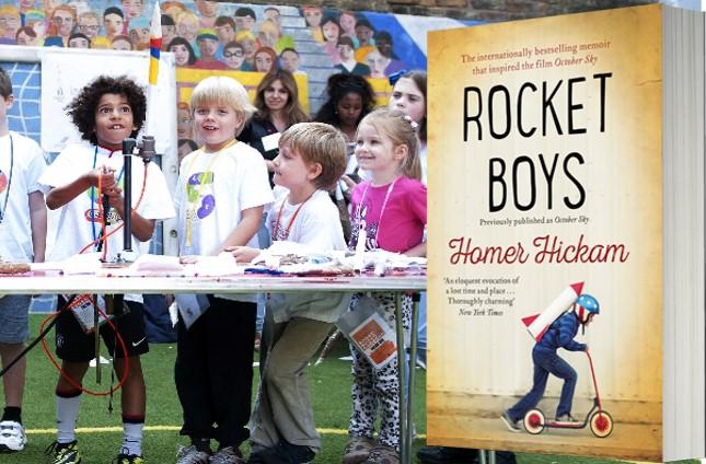 Rocket Boys book and kids.jpg
