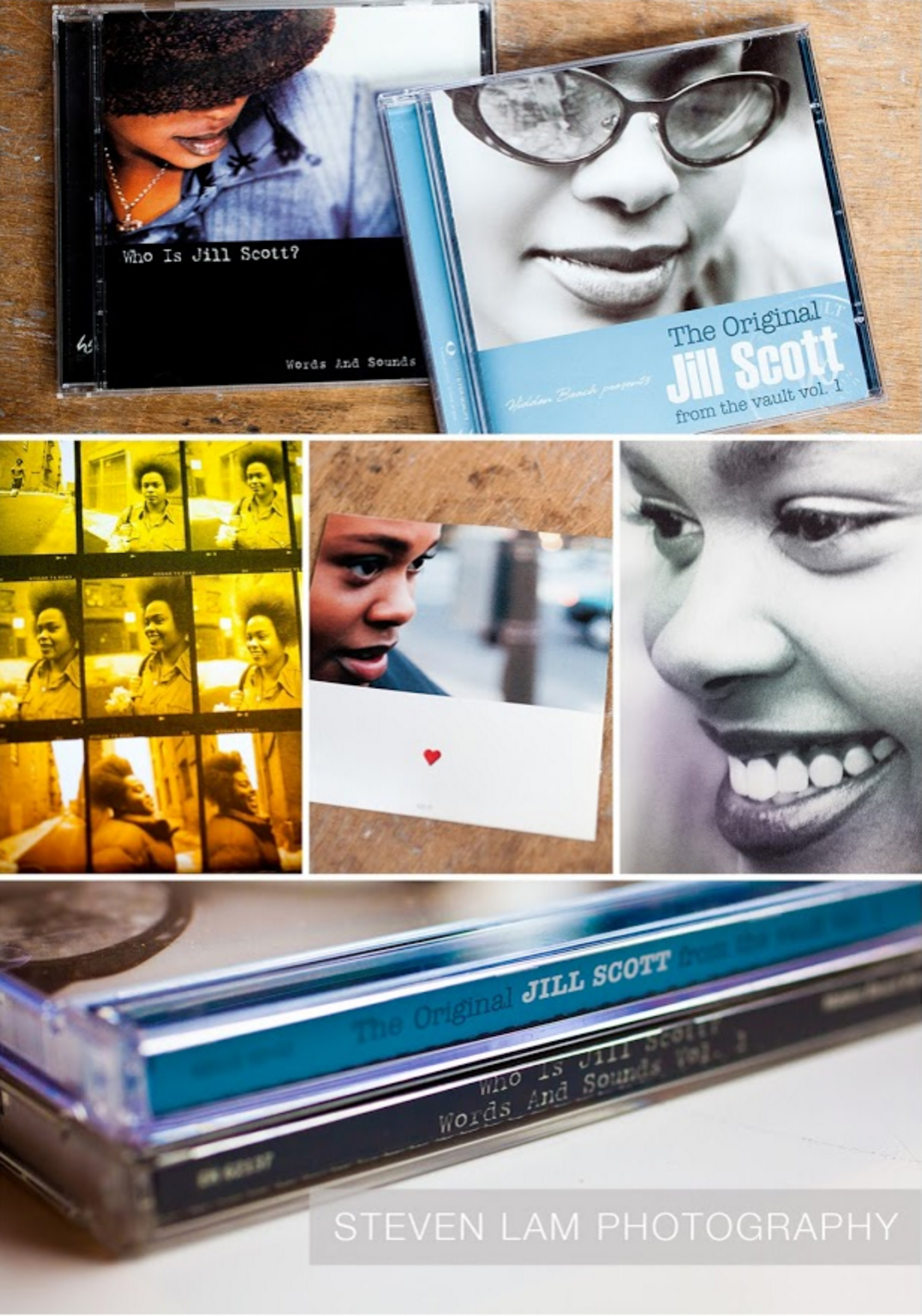 JILL SCOTT CD PACKAGING / Who Is Jill Scott? Words and Sounds, Vol. 1