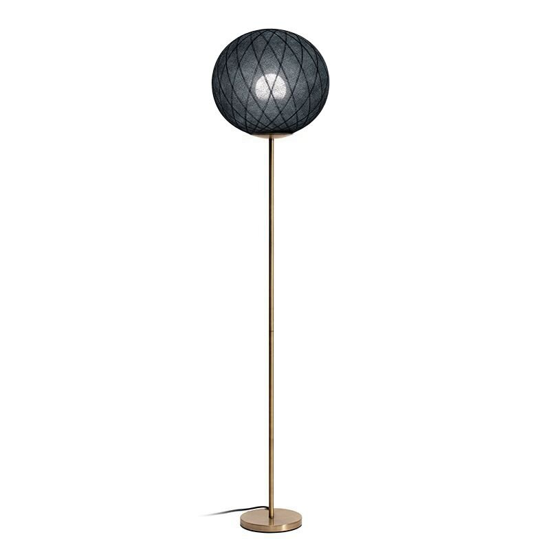 Art Deco Floor Lamp Black Gold Little Paris Store