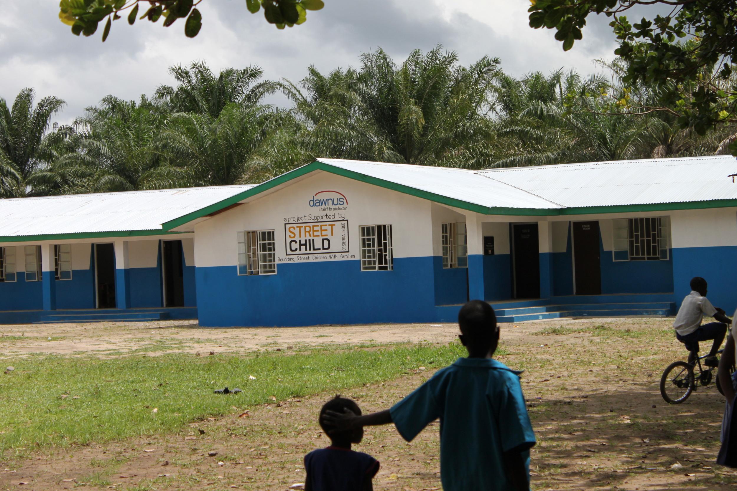 Street Child, our charity partner in Sierra Leone