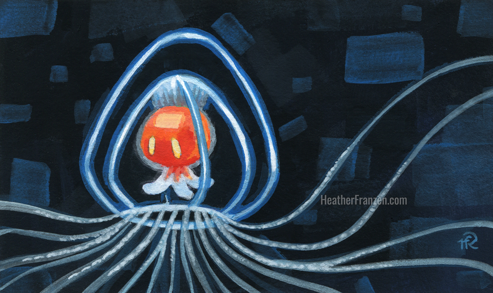 I is for Immortal Jellyfish