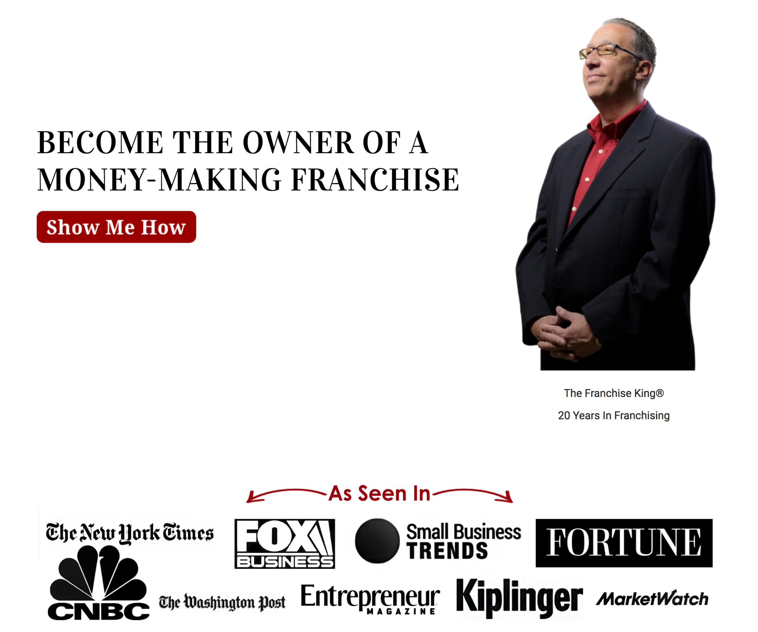 The Franchise King - Slider Design/WordPress