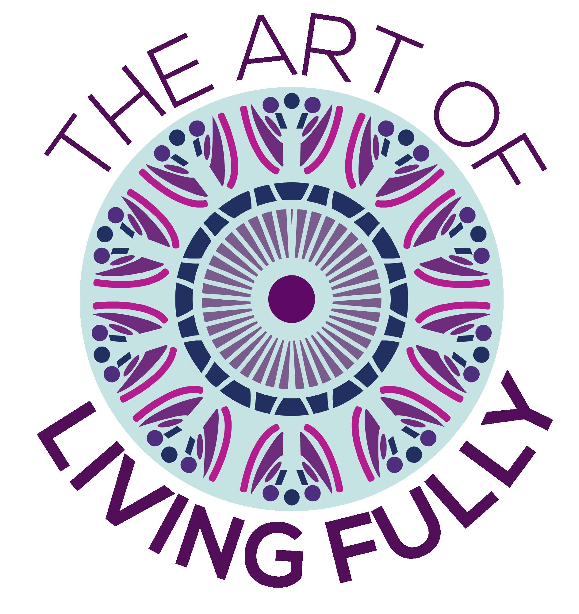 The Art of Living Fully - Logo