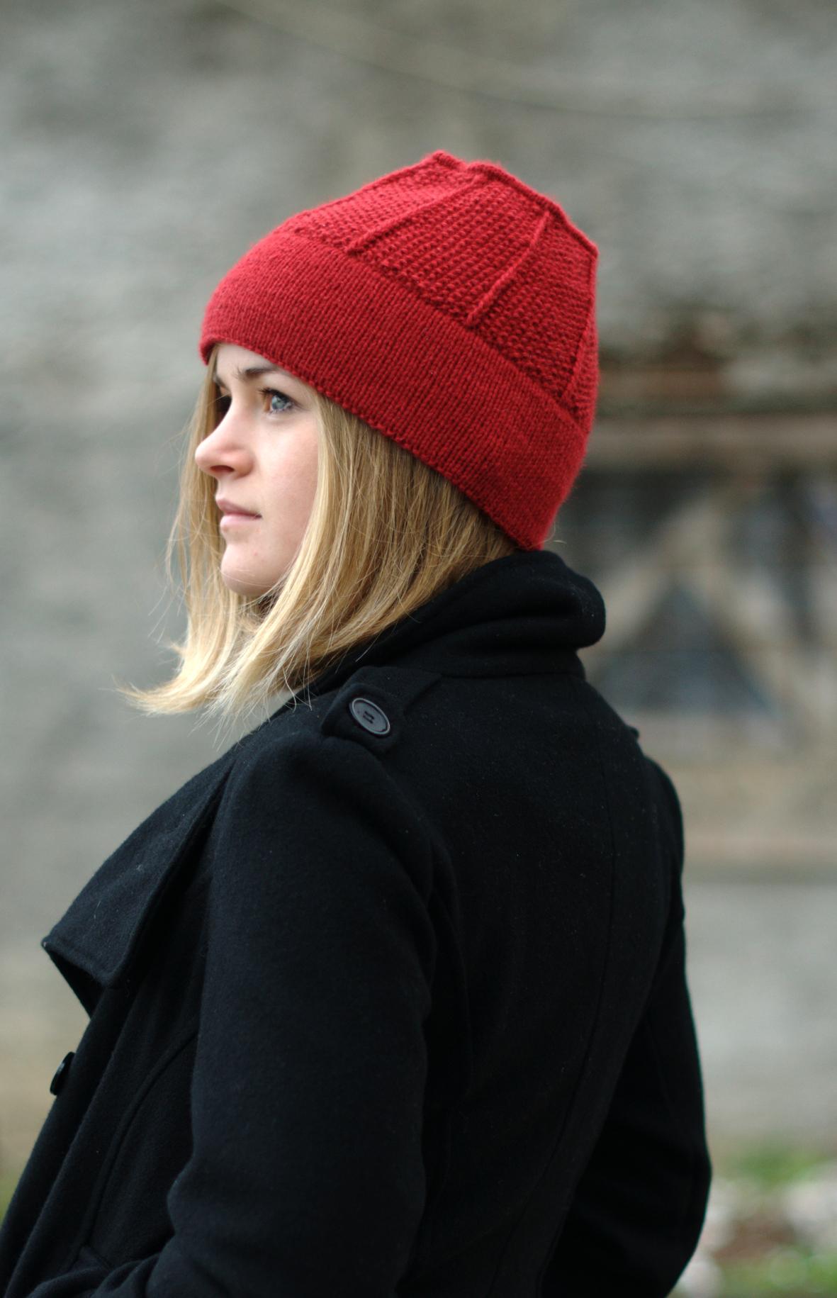 Taboosh vintage pillbox style Hat knitting pattern