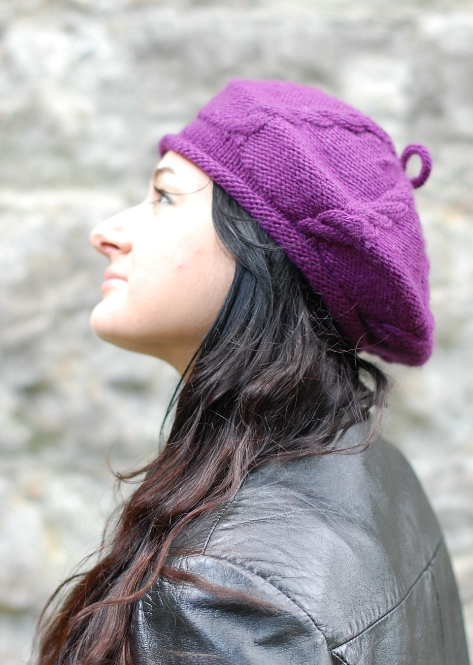 Cabled Cap knitting pattern