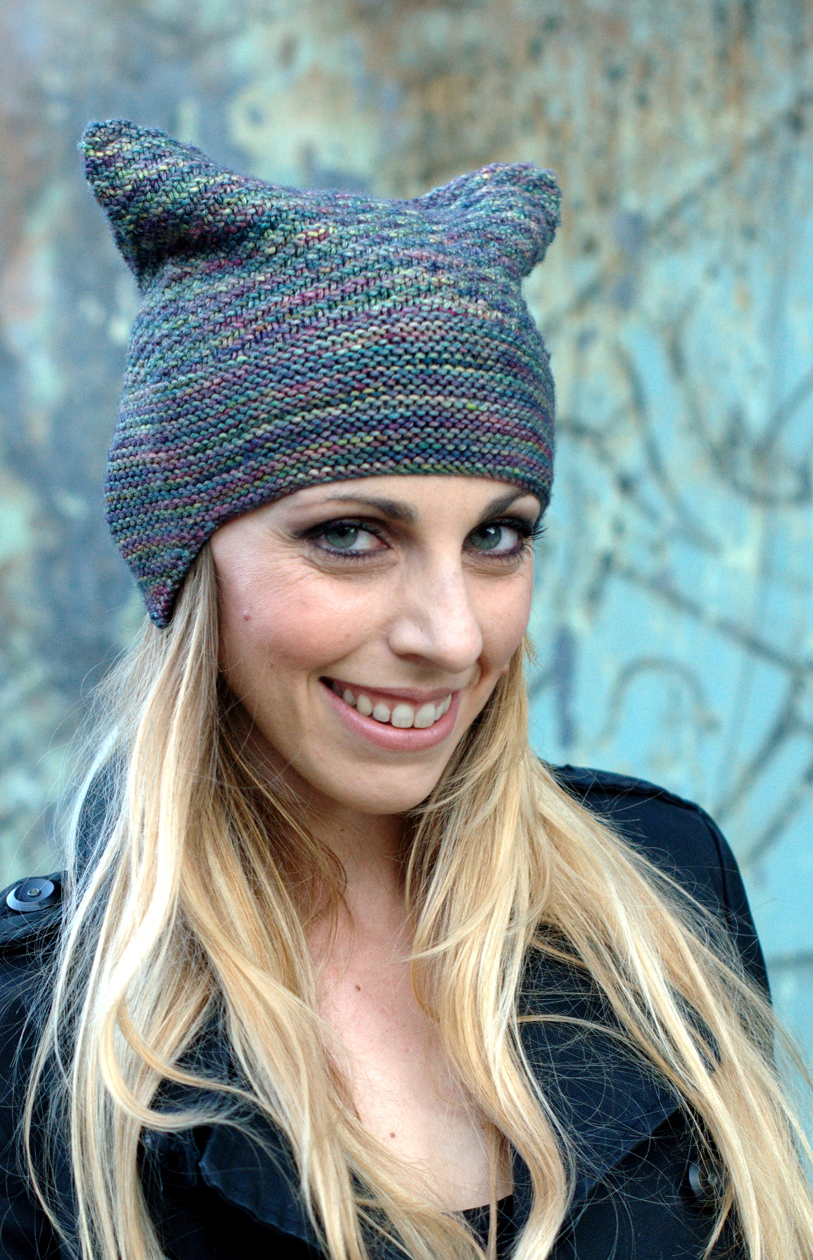 Cubbed chullo Hat knitting pattern