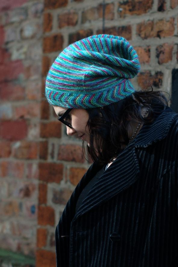 Gallone slouchy Hat knitting pattern