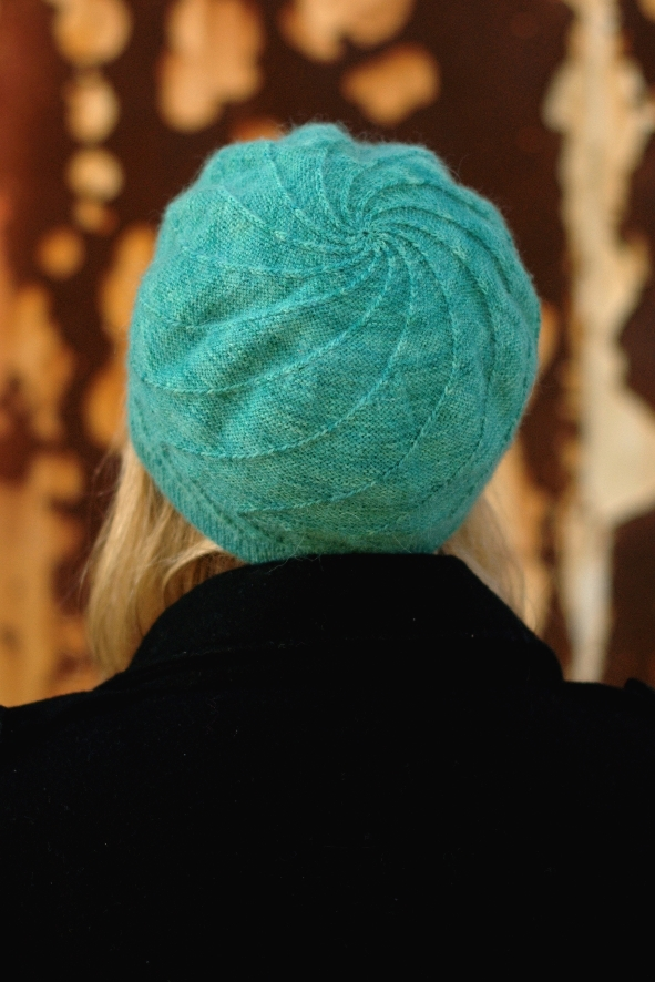 Out of the Darkness beanie and beret knitting pattern