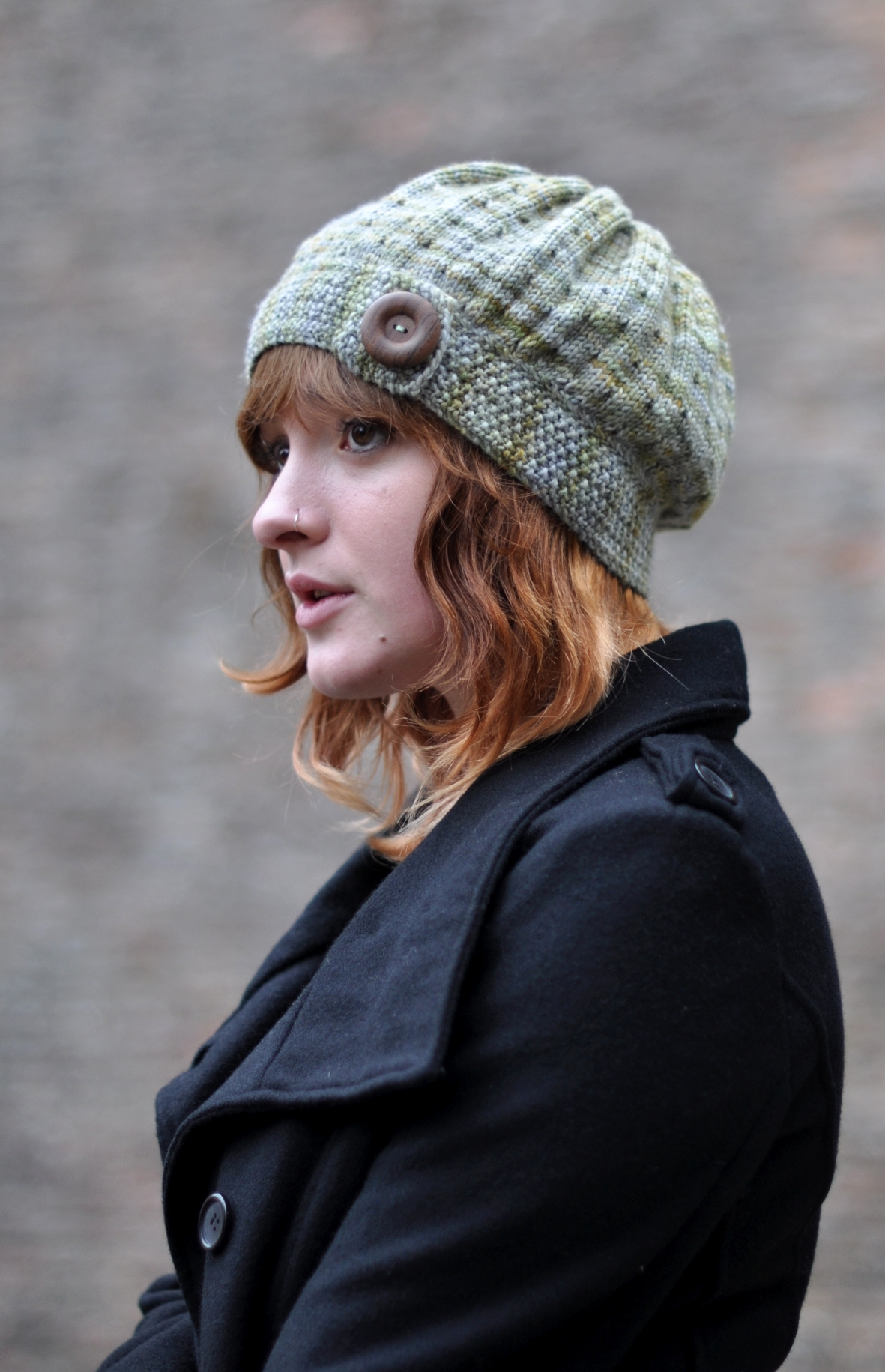 Ruislip vintage inspired cloche Hat knitting pattern