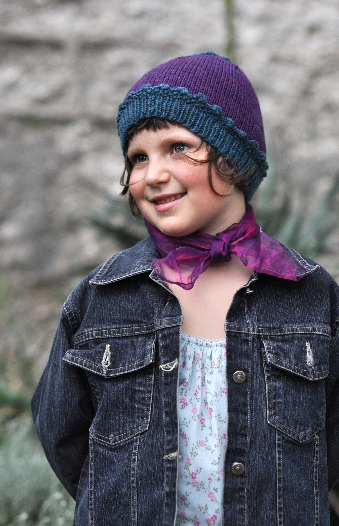 Sproutling cute beanie knitting pattern