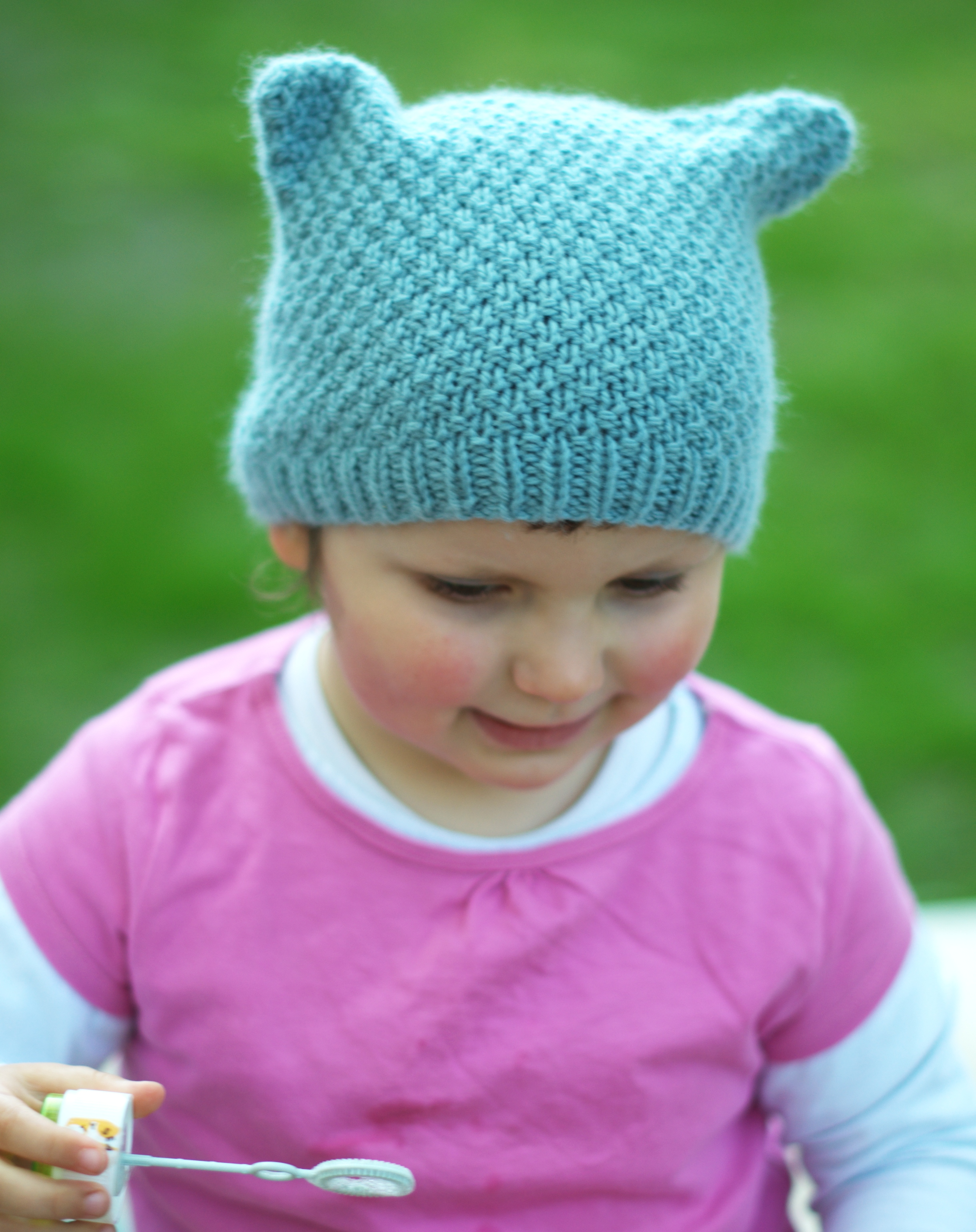 Ruskin childs Hat hand knitting pattern