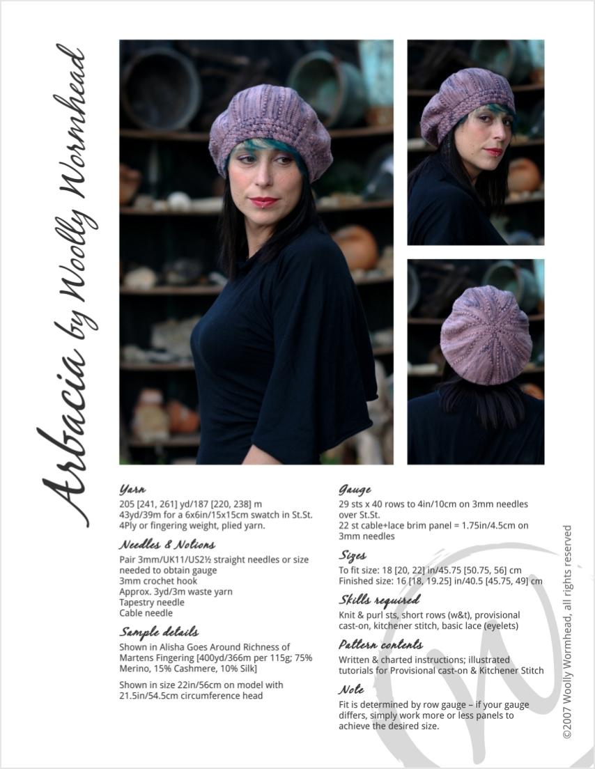 Arbacia beret pattern