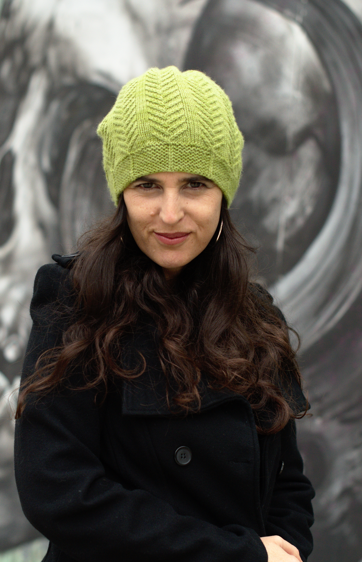 Pinua slouchy Hat knitting pattern