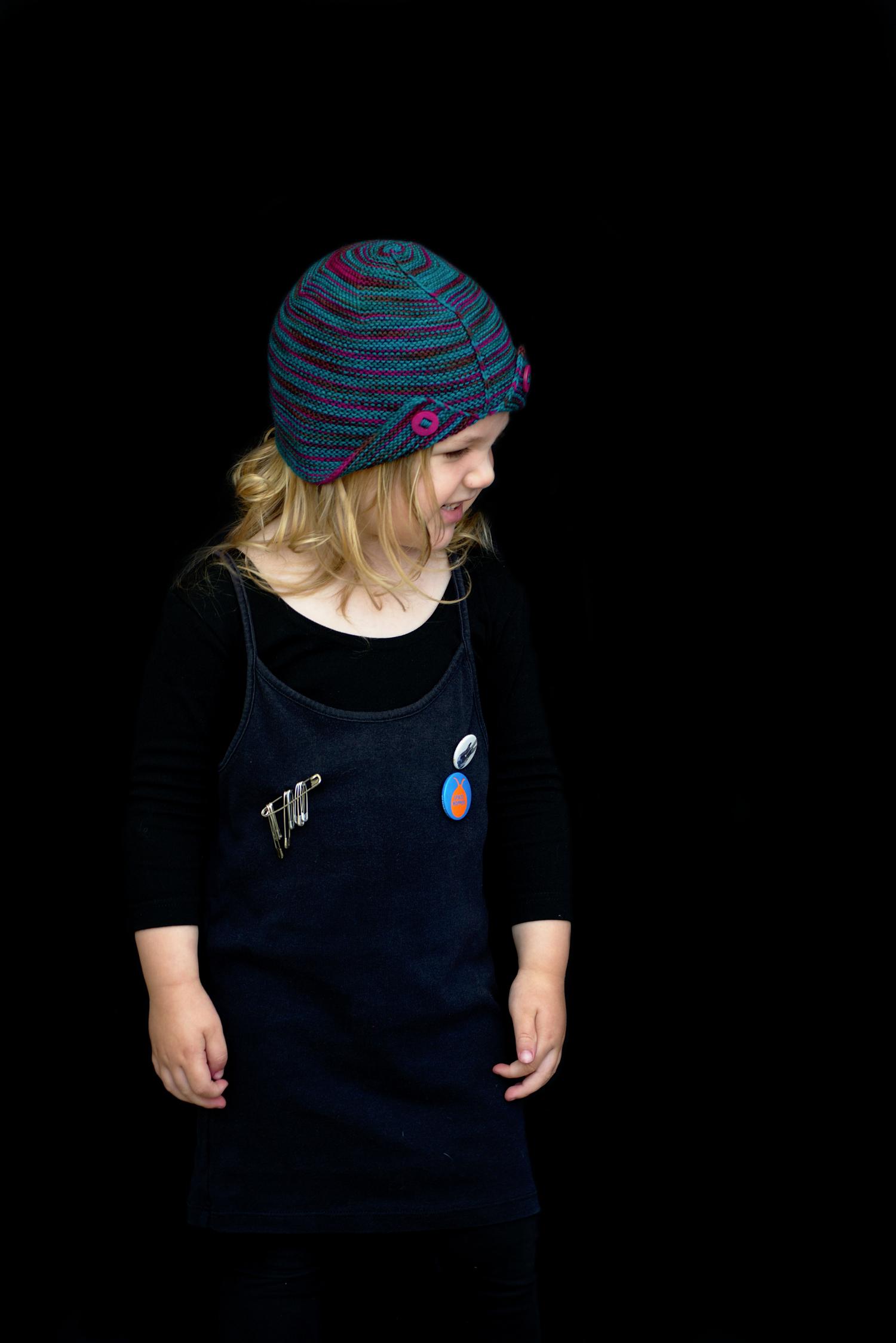 Wychavon cloche Hat knitting pattern