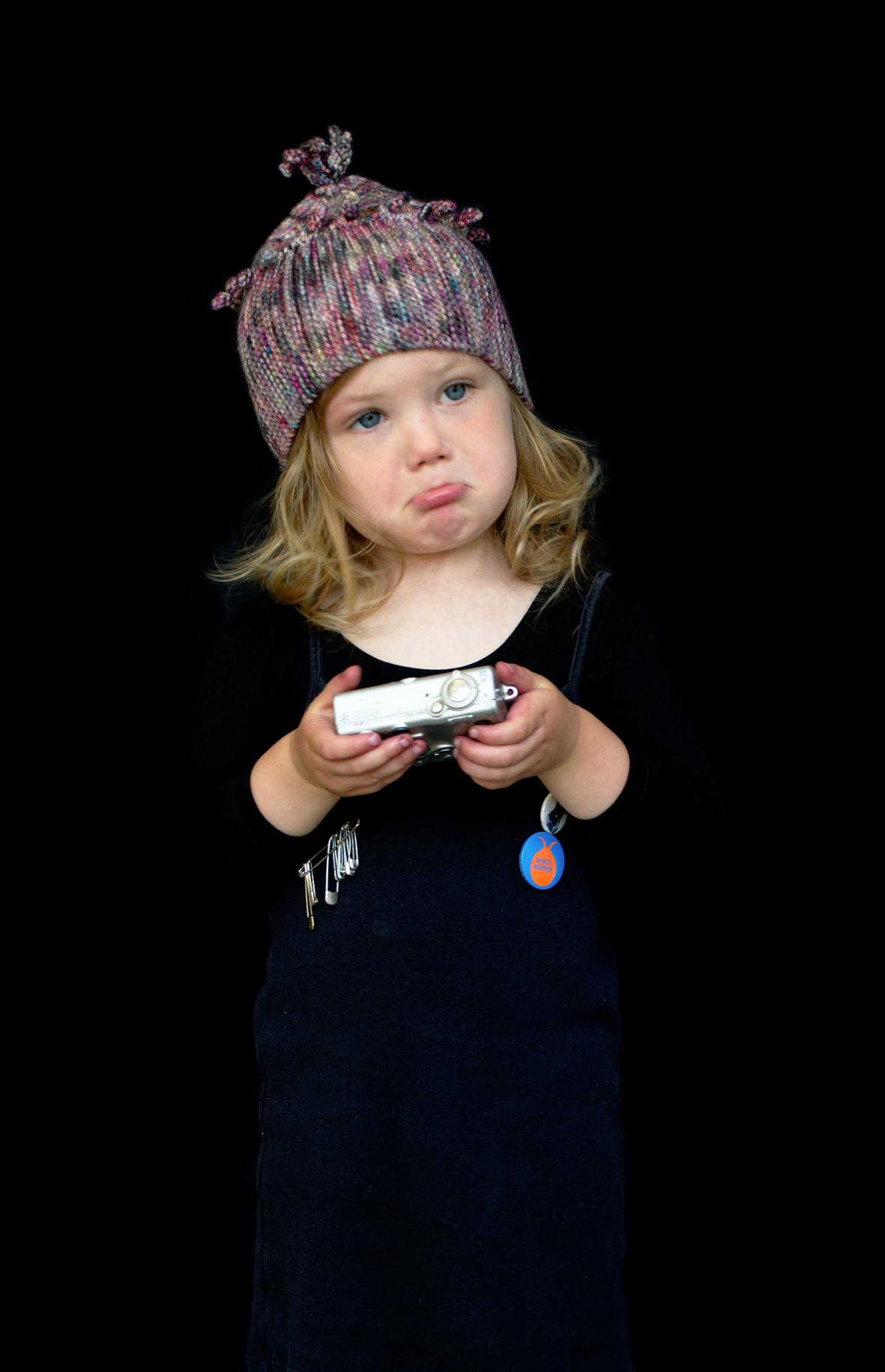 Chesser pixie Hat hand knitting pattern