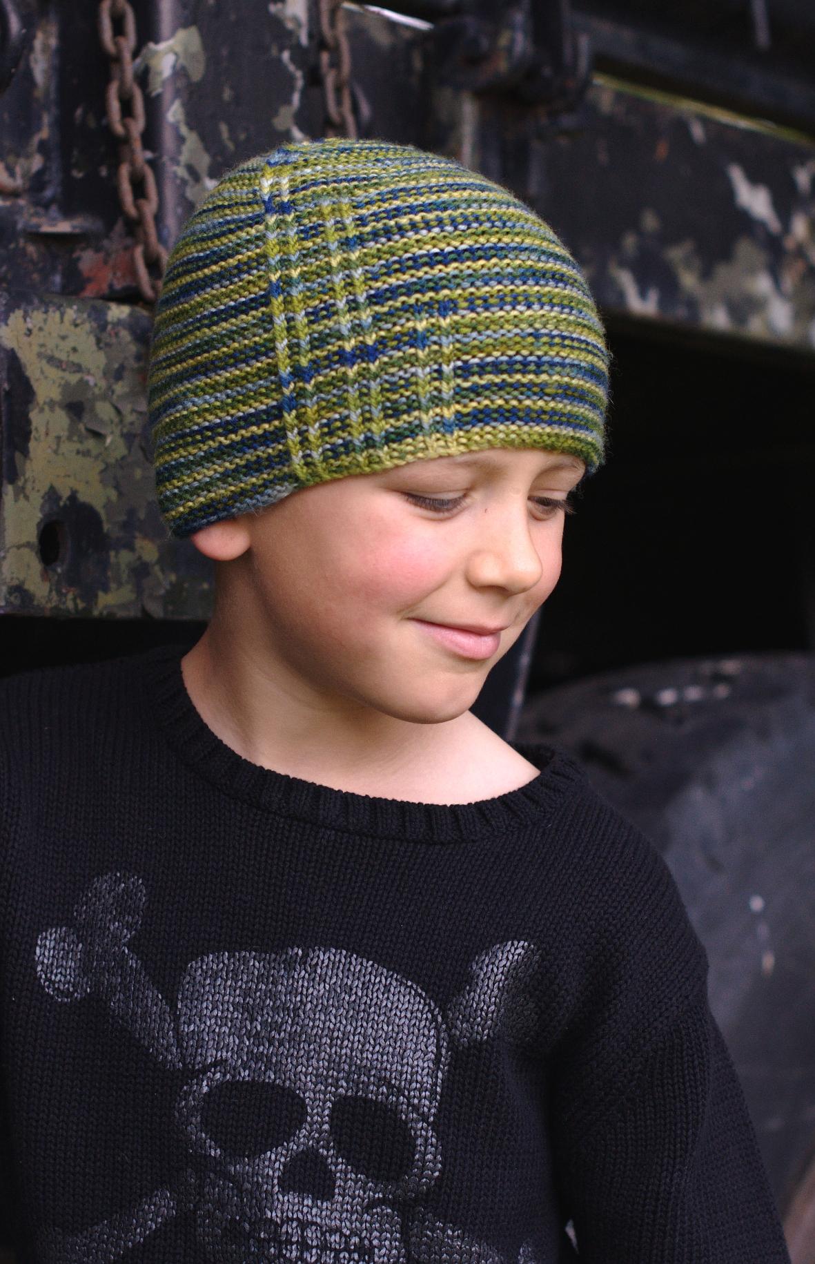 Gorton beanie hand knitting pattern