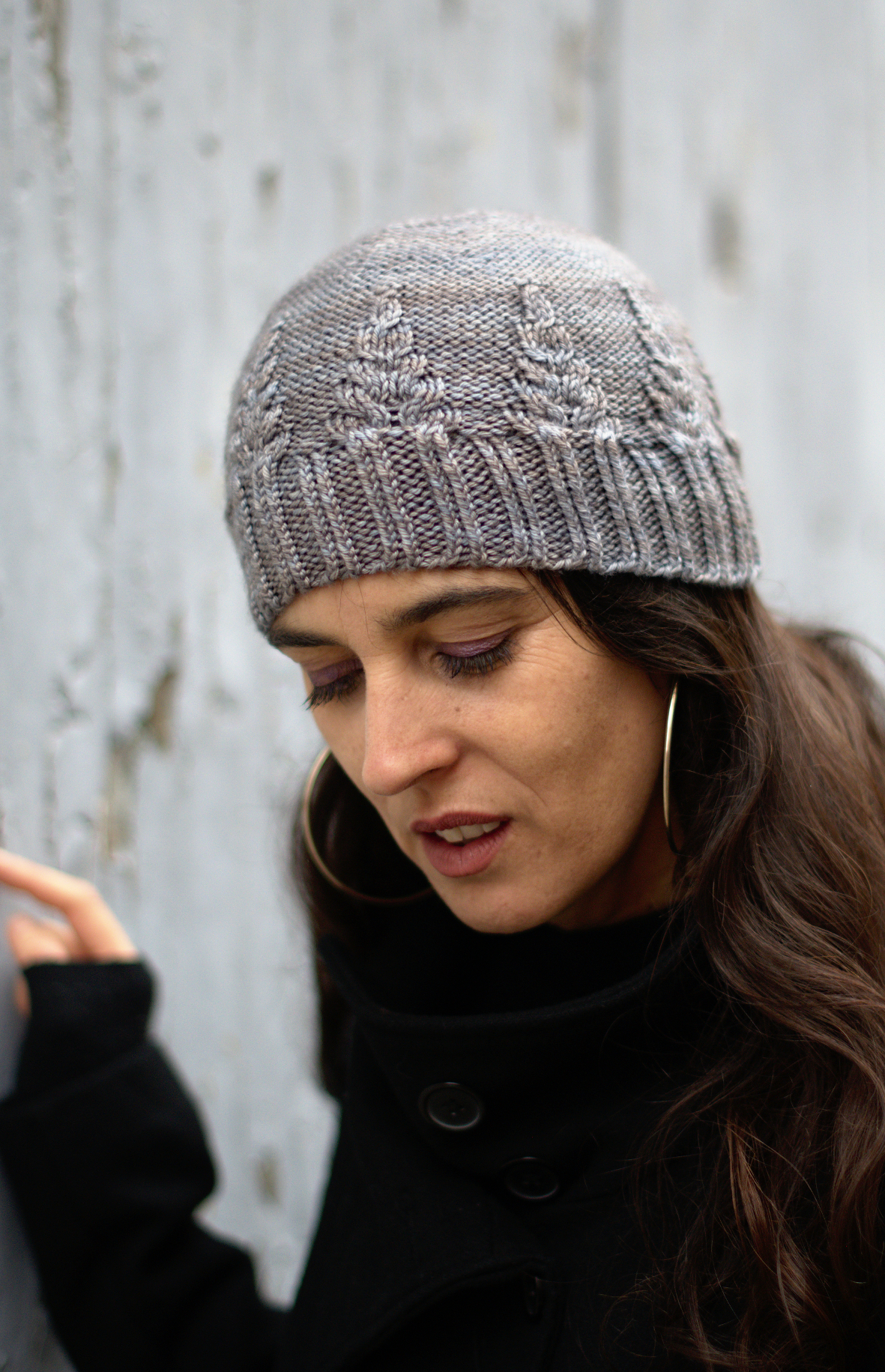 Armley beanie & slouch Hat patterns for DK weight yarn