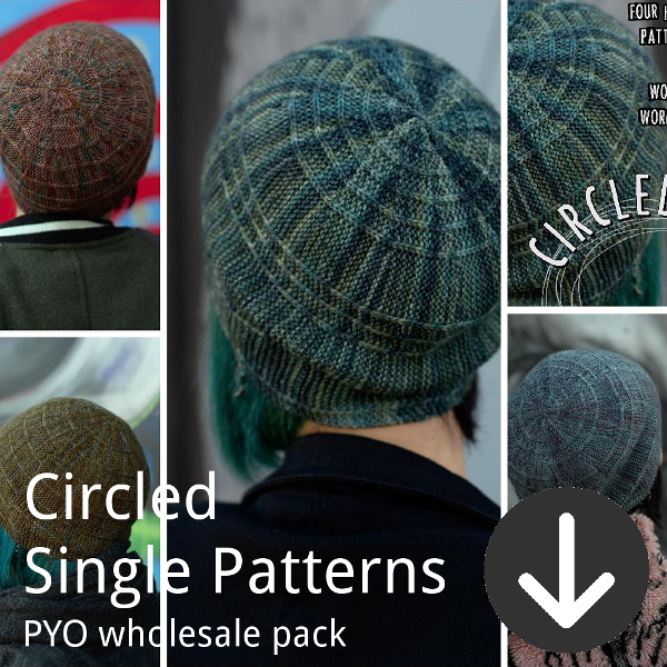 print your own wholesale pack from Woolly Wormhead for circled single patterns