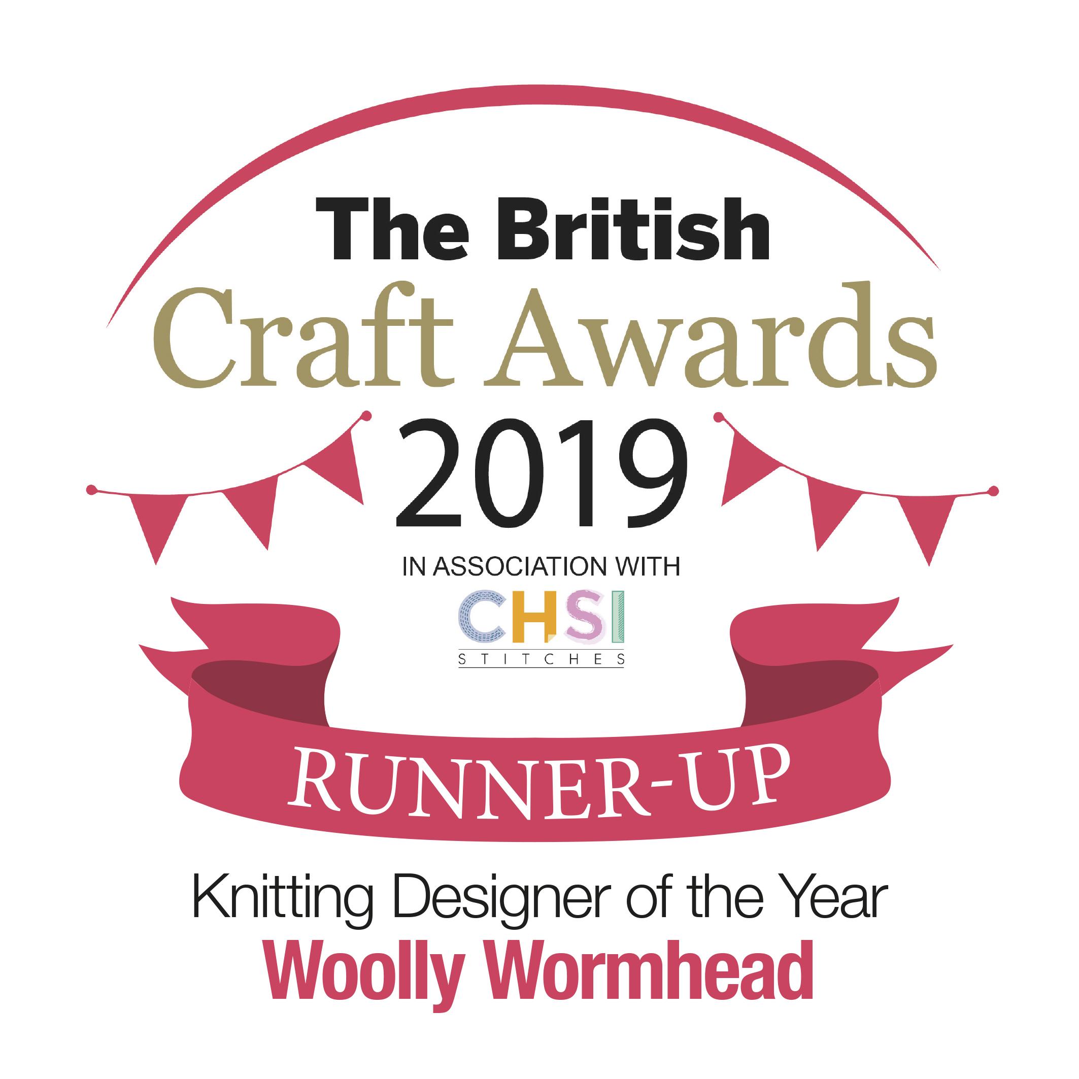 British Craft Awards - Knit Designer of the Year 2019, runner up