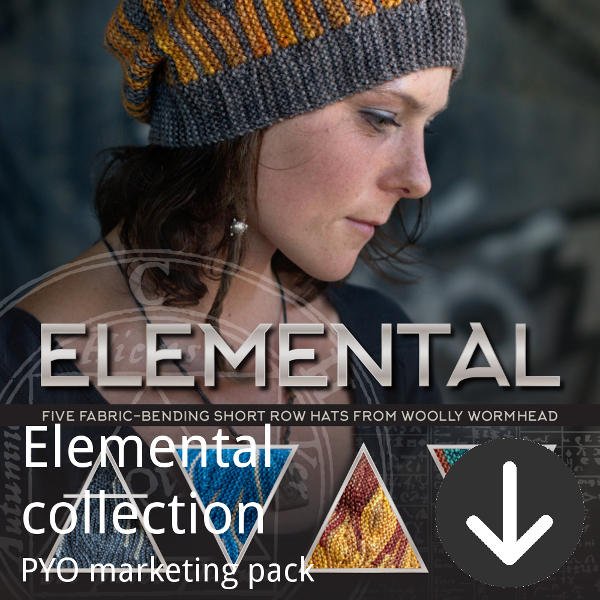 Elemental marketing pack for indie dyers