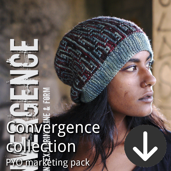 Convergence marketing pack for indie dyers