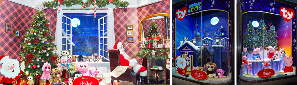 Propability, Creative Design, Hamleys, Christmas Toys, Windows