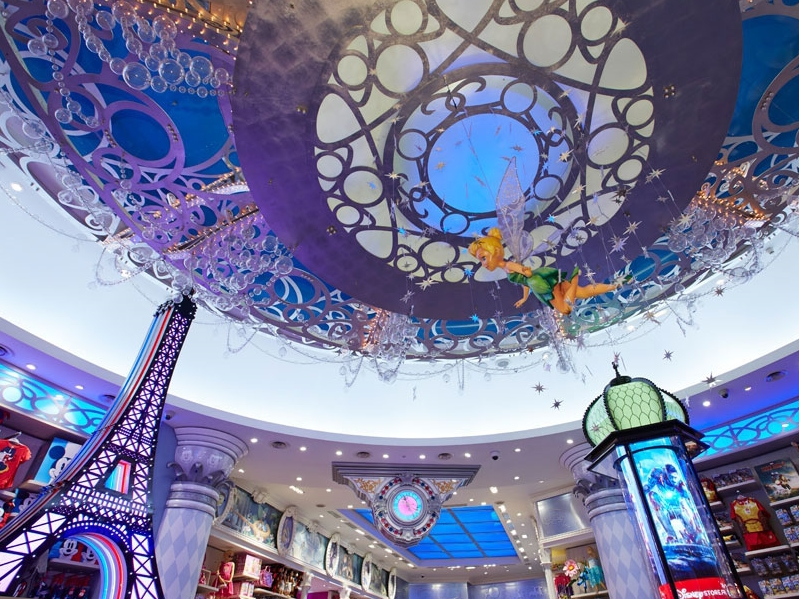 CHAMPS ELYSEE STORE RE-FIT - DISNEY STORE PARIS   May 2013