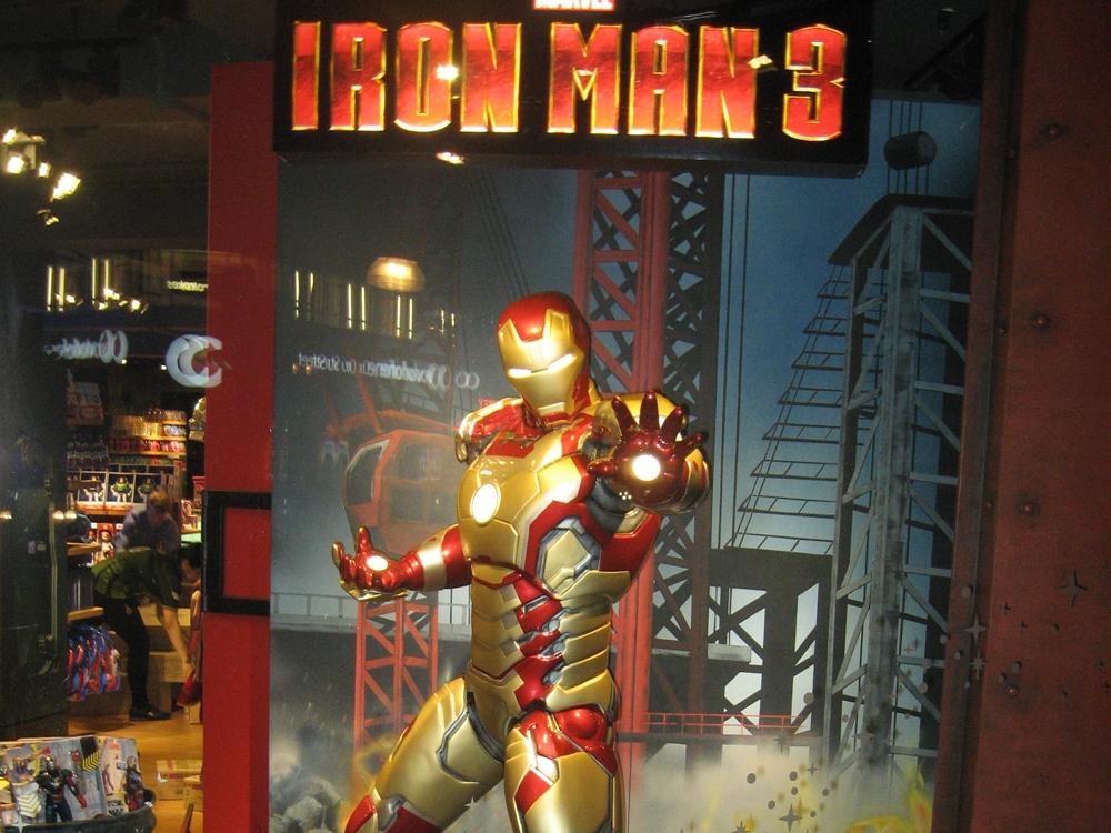 Iron Man 3-Disney-Visual Merchandising-Props & Sculpts