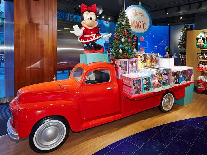 SHARE THE MAGIC INSTORE - DISNEY   November 2014