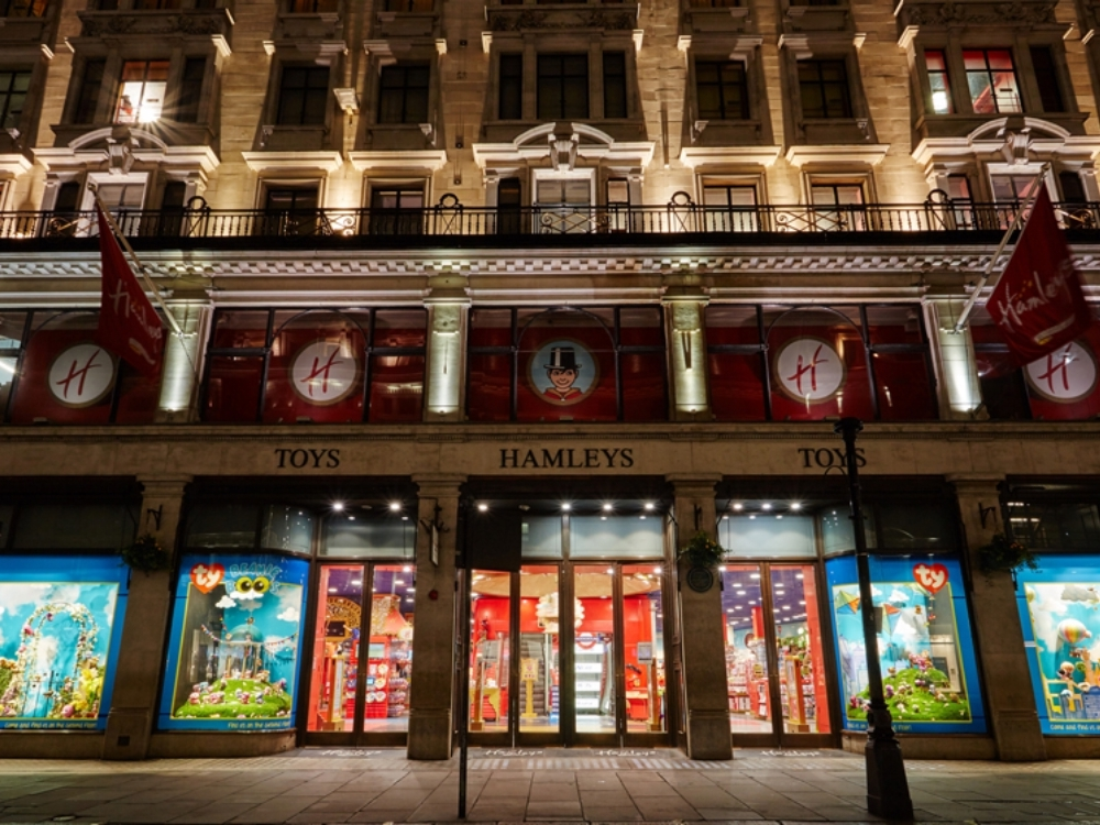TY Hamleys - Window Displays -