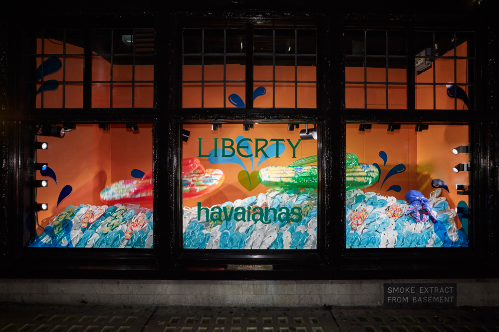 HAVAIANA - LIBERTY LONDON    June 2016