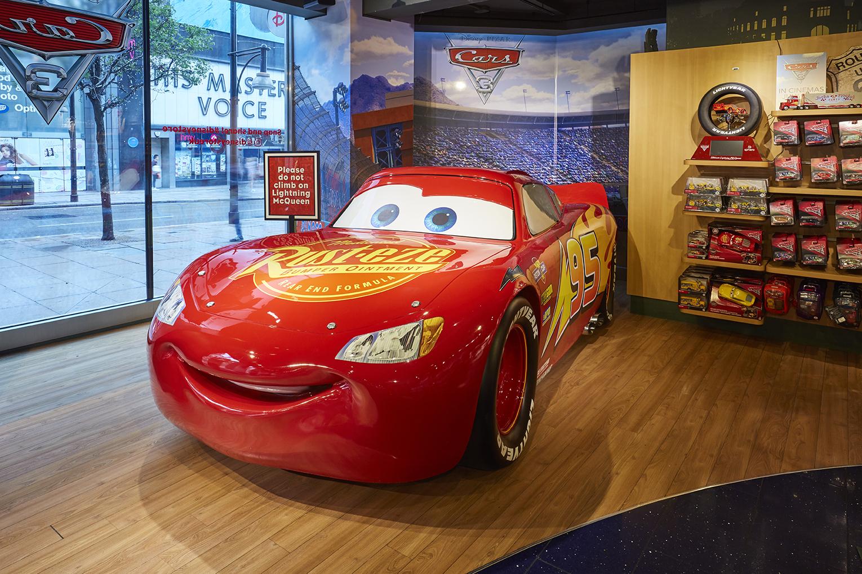 Propability, Disney Store, Lightening McQueen, Prop, Toys 3.jpg